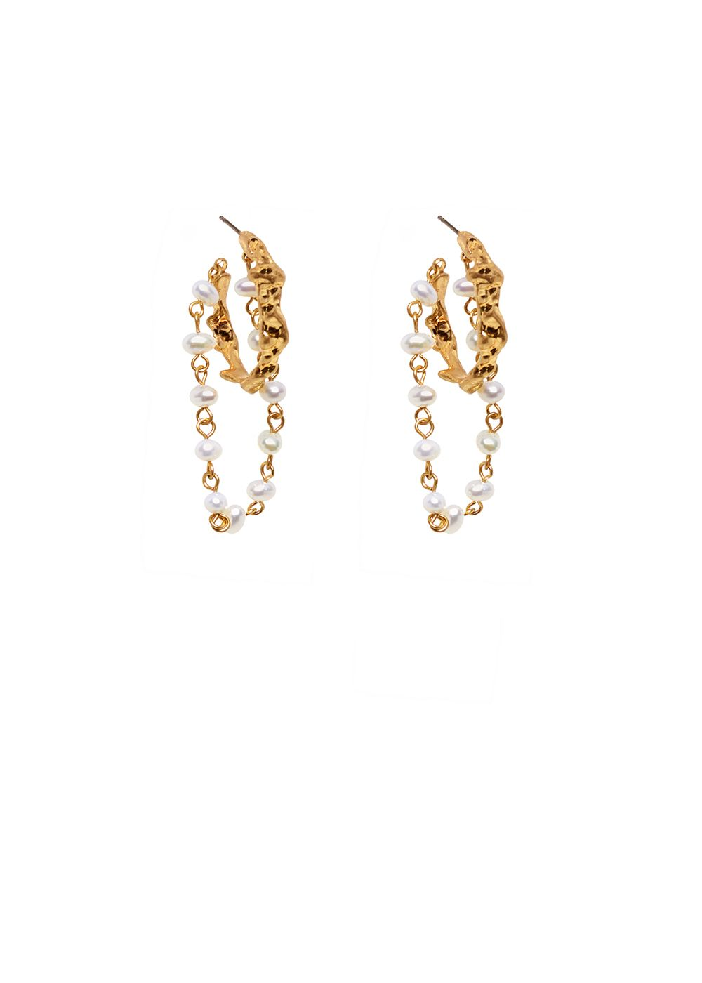 NUNZIA EARRINGS WITH PEARLS