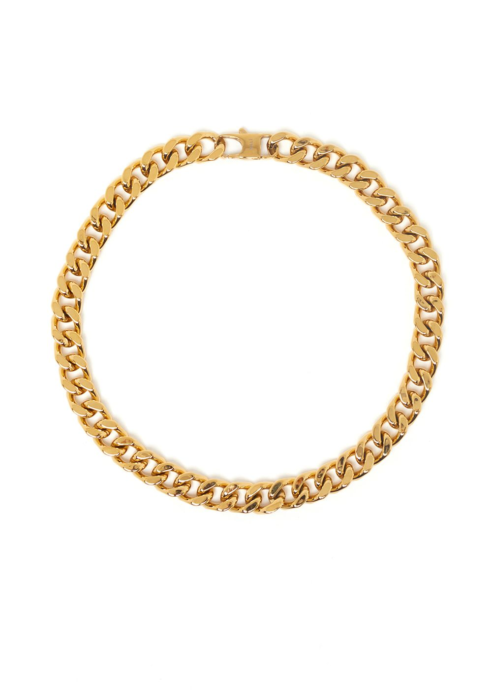 JASMIN CHAIN NECKLACE IN GOLD  STAINLESS STEEL