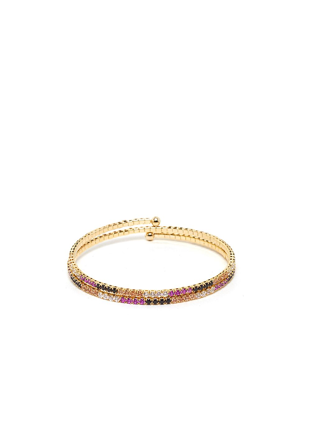 LEA BRACELET WITH COLORED CRYSTALS