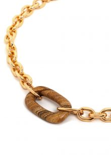 FEDRA GOLD CHAIN NECKLACE