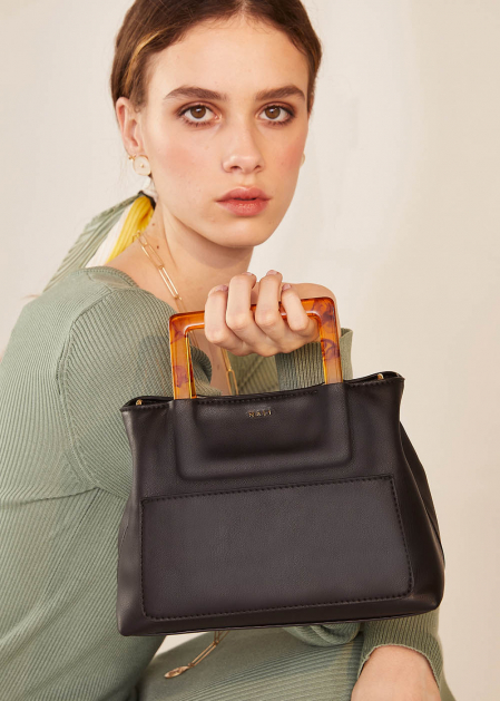 NOA SMALL BLACK HANDBAG