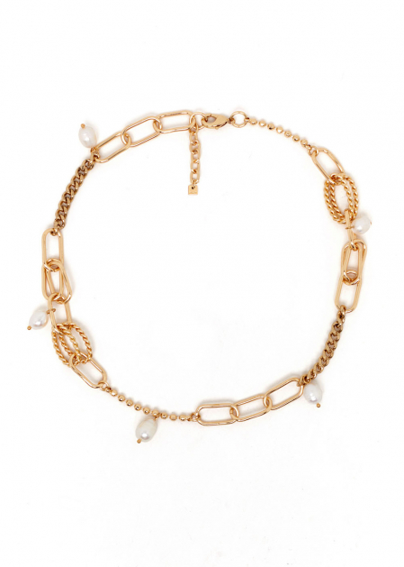 TITTI NECKLACE WITH NATURAL PEARLS