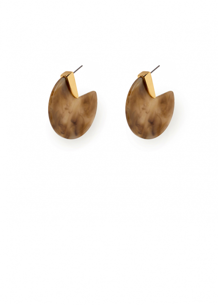 ELIS BEIGE EARRINGS