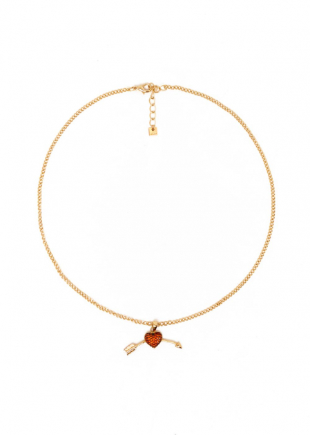 GIULIANA NECKLACE PLATED IN 14KT GOLD