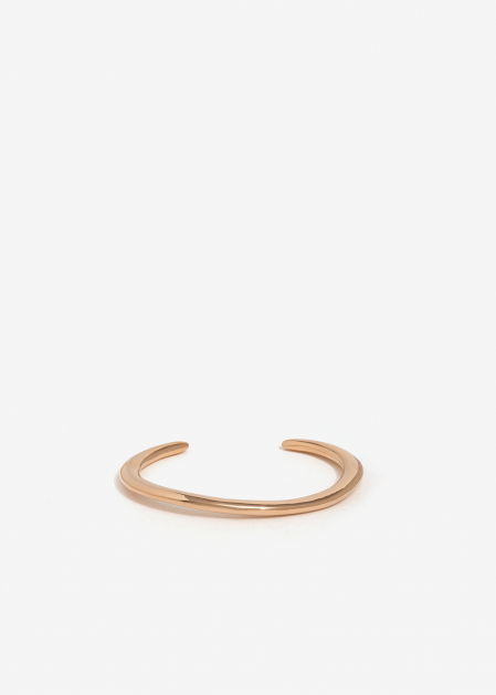 THIN PINK GOLD OPEN CUFF