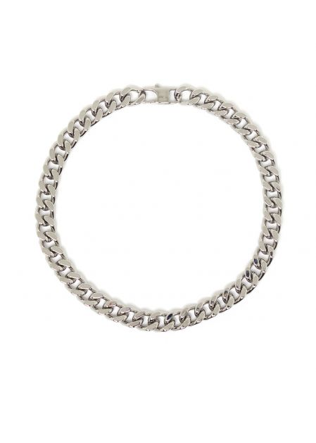 JASMIN CHAIN NECKLACE IN SILVER  STAINLESS STEEL