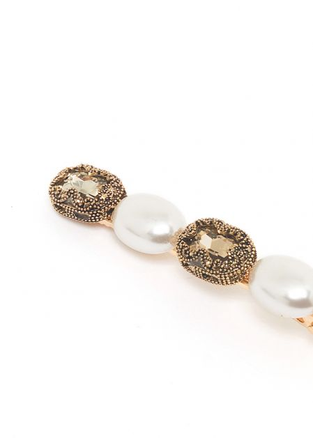 ELLE HAIRCLIP WITH PEARLS