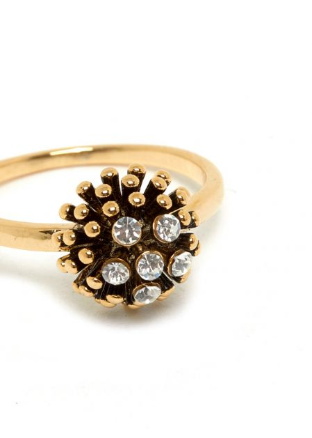 OTTY RING 18K GOLD-PLATED