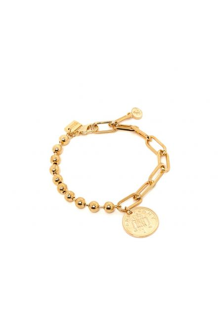 MARY 18KT GOLD PLATED BRACELET