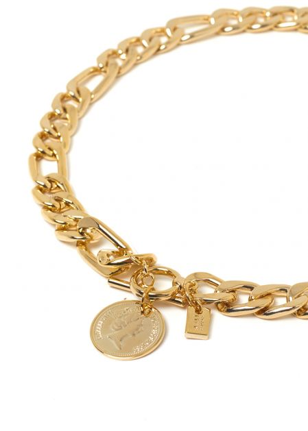 MORY NECKLACE 18K GOLD-PLATED