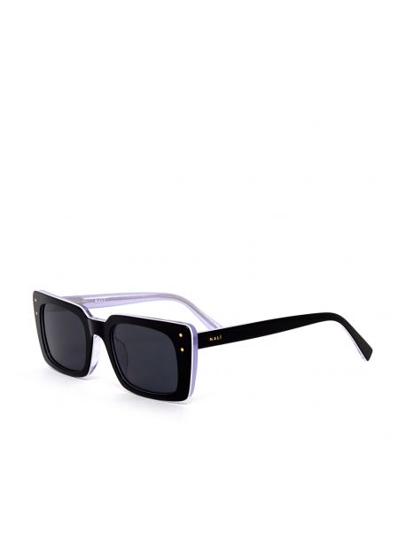 AIDA BLACK ACETATE BUTTERFLY SUNGLASSES
